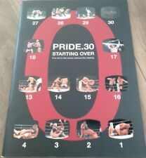 PRIDE  Program PRIDE 30 Starting Over UFC MMA