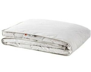 IKEA SOTVEDEL Comforter Off-White 75% Duck Down New Unpacked 86x86