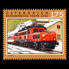 Austria 2017 - 150th Anniversary of the Brenner Railway Trains - MNH