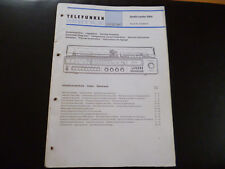 Original Service Manual Telefunken studio center 5004