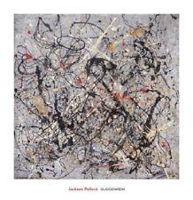 "POLLOCK JACKSON - NUMBER 18, 1950 - ART PRINT POSTER 29"" x 28"" (1026)"