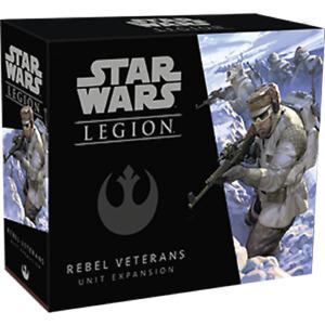 Star Wars Legion -Rebel Veterans - Unit Expansion - Unpainted Minatures