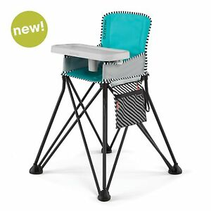 Pop & Fold Portable Compact Baby Highchair w/ Carry Bag