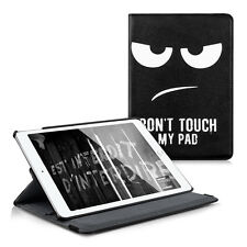 Kwmobile 360 ° funda protectora para Apple iPad Air 2 Don 't Touch My pad piel sintética