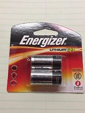 Energizer, Lithium 123, Set of 2, 3 Volt, EL123AP, DL123A, CR123, K123LA, PHOTO