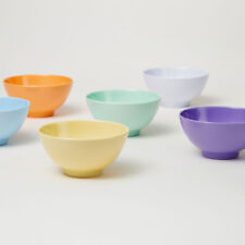 Barel Designs Set of 6 Everyday Rice Bowls in Pastel Colours