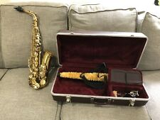 King  613 Alto Saxophone With Case