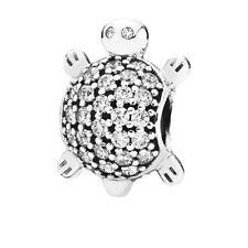 PANDORA Silver Sea Turtle Charm 791538CZ S925 ALE  Beach tortoise