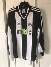 Newcastle United Classic Rare Long Sleeve 01/03 Home Shirt
