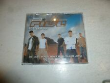 FIVE - Let's Dance - 2001 UK 4-track Enhanced CD