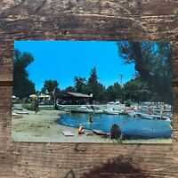 Vintage Postcard Will-O-Point Resort Clear Lake Lakeport California CA PC A51