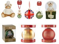 Harrods 2019 Christmas Logo Bauble Tree Decorations Joshua Annual Bear Gift
