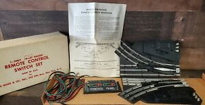 Louis MARX & Co 1969 New in Orig Box O-27 Gauge REMOTE CONTROL SWITCH SET 1740