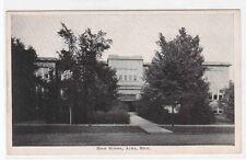 High School Alma Michigan 1920s postcard
