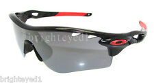 Authentic OAKLEY RadarLock Path Vented Black Sunglasses OO9181-28 *NEW*