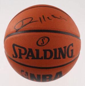 Vlade Divac Signed Game Ball Series Basketball (Beckett Hologram)