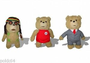 Ted Plush Talking 30 CM Soft Plush Soft Sound By 1 Or 3 3762