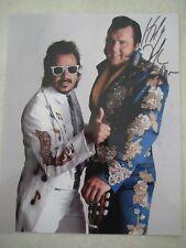 HONKY TONK MAN AUTOGRAPHED COLOR PHOTO WWE WCW WWF