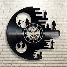 Star Wars Vintage Figure Lot Original 12 Vader Luke Han Leia Vinyl Recor Clock