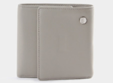BODHI Men's Genuine Leather Tri-Fold Wallet, NEW