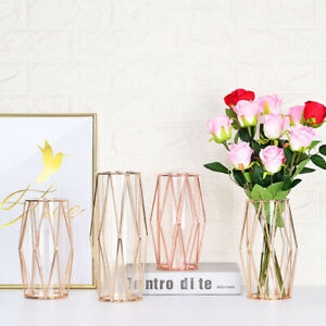 Nordic Style Vase Decoration Home Table Iron Art Dried Flower Flower Vases