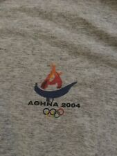 Aohna 2004 Olympic T-Shirt Made In Greece