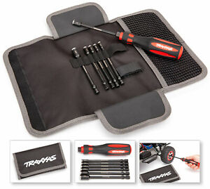 Traxxas 8719 Premium 6-Piece Nut Driver Tool Kit with Carrying Case