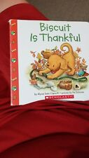Biscuit: Biscuit Is Thankful by Alyssa Satin Capucilli (2003, Board Book)