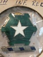 WWII 36th Infantry Regiment DI Pin Military Vintage