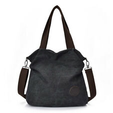 Fashion Women's Hobo Bag Canvas Handbag Shoulder Bags Purse Tote Large Sactchel