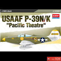 """Academy 1/48 USAAF P-39N/K """"Pacific Theatre"""" US Army Aircraft model kit #12333"""