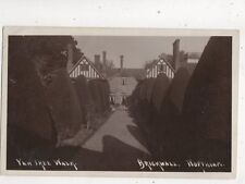 Yew Tree Walk Brickwall Northiam Sussex Vintage RP Postcard 596b