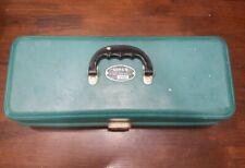 Vintage UMCO 173 US Fishing Tackle Box Green