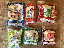 Pixar Toy Story 2 McDonalds Happy Meal Complete set 6 Candy Figures 1999