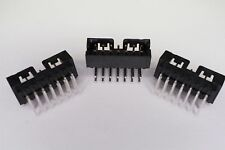 Lot of 3 87833-1420 Molex Shrouded Header Connector 14 Pos 2mm Right Angle