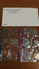 UNITED STATES MINT UNCIRCULATED COIN SET 1972 NEW IN ORIGINAL PACKAGE