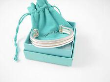 Tiffany & Co RARE Silver Atlas Groove Cuff Bangle Bracelet!
