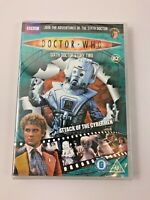 Doctor Who Attack of The Cybermen 6th Doctor Story 2 BBC DVD BRAND NEW