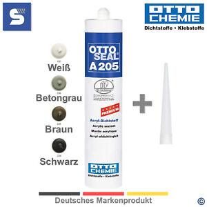 Acryl OTTOSEAL A 205 Premium Acryl Dichtstoff 310 ml   4 Farben   OTTO CHEMIE