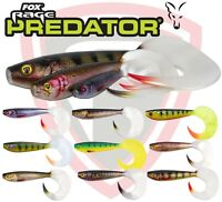 Fox Rage Fishing Lures Pro Grub Soft Plastic All Sizes UV Super Natural All Size