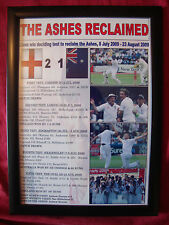 More details for england 2009 ashes winners - framed print