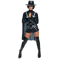 V for Vendetta Sexy Adult Women's Halloween Costume 2-6 Small No Hat #N90
