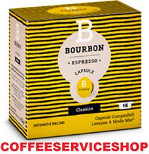 256 Capsule Caffè Lavazza a Modo Mio Originali Bourbon Gusto Classico