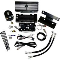 UltraCool RF-2G Below Regulator Mounted Oil Cooler Kit - Black