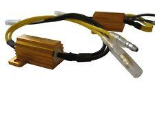 Par de resistencias de carga LED indicador de ajuste fácil para todos los Honda Motocicletas y Scooters
