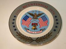 1776/1976 Bicentennial 200 Years of Progress Collector's Plate