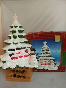 vintage Magical musical Christmas tree boxed