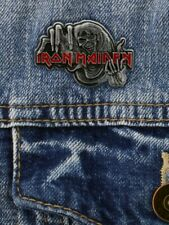 More details for iron maiden badge number of the beast enamel pin 4x3cm