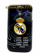 for Samsung galaxy S4 Real Madrid Club de Fútbol football case black \