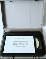 SUP POP RECORDS 1993 MUSIC VIDEO REEL TAPE POND SEAWEED AFGHAN WIGS U-MATIC PUNK